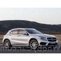 Модель Mercedes-Benz GLA-klasse AMG