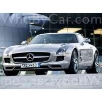 Модель Mercedes-Benz SLS AMG