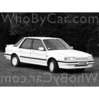 Поколение MG Montego