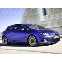 Модель Opel Astra OPC