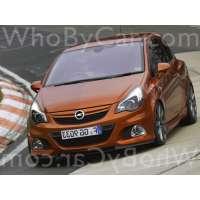 Модель Opel Corsa OPC