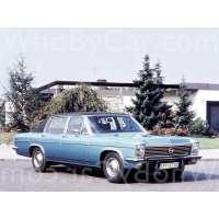 Модель Opel Diplomat