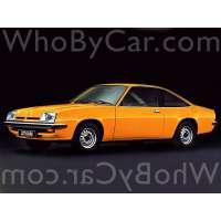 Модель Opel Manta