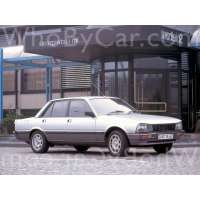 Модель Peugeot 505