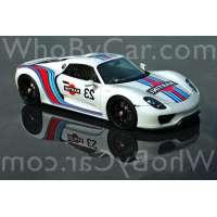 Модель Porsche 918 Spyder