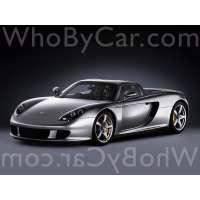 Модель Porsche Carrera GT