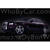 Модель Rolls-Royce Ghost