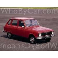 Модель Renault 6