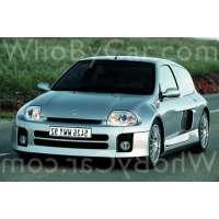 Модель Renault Clio V6