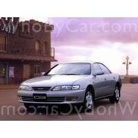 Модель Toyota Carina ED