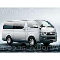 Модель Toyota HiAce