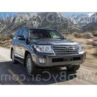 Модель Toyota Land Cruiser