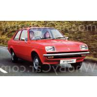Модель Vauxhall Chevette