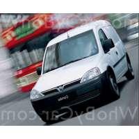 Модель Vauxhall Combo