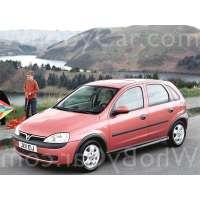 Модель Vauxhall Corsa