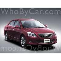 Модель Toyota Premio