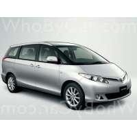 Модель Toyota Previa