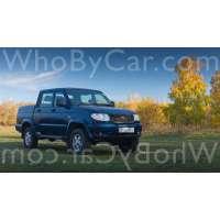 Модель УАЗ Pickup