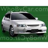 Модель Toyota Sprinter Carib
