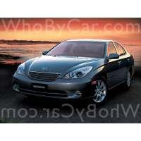 Модель Toyota Windom
