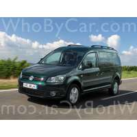 Модель Volkswagen Caddy
