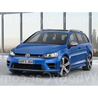 Модель Volkswagen Golf R